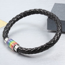 Load image into Gallery viewer, Rainbow Magnetic Handmade Bracelet