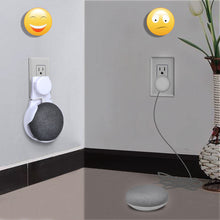 Load image into Gallery viewer, Compact Holder Case Plug in Kitchen Bedroom For Google Home Mini Voice Assistant