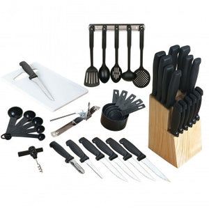 Gibson Home Total Kitchen 41-Piece Cutlery Combo Set