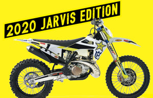 First Look Graham Jarvis Edition 2020 Husqvarna te300i Hard Enduro Bike