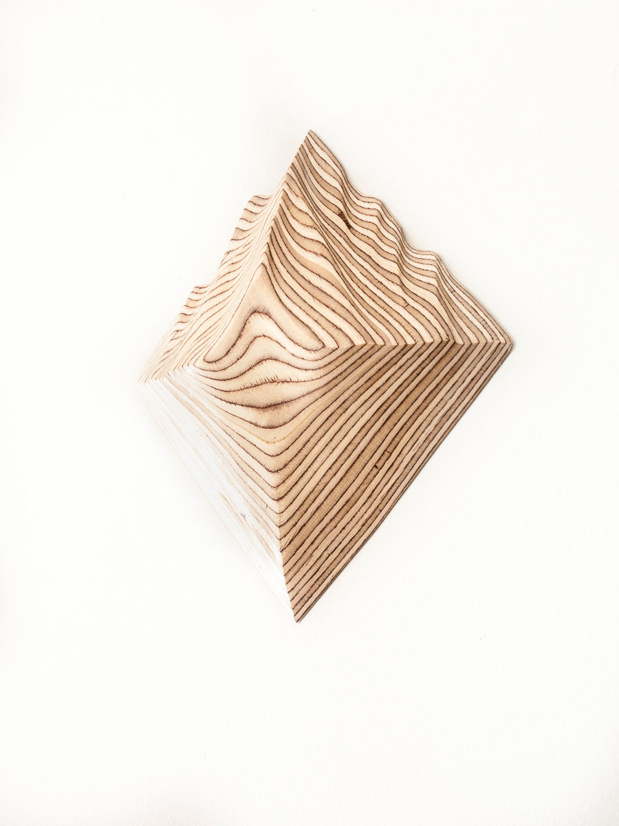 Diamond Mountain Topographical Wall Art