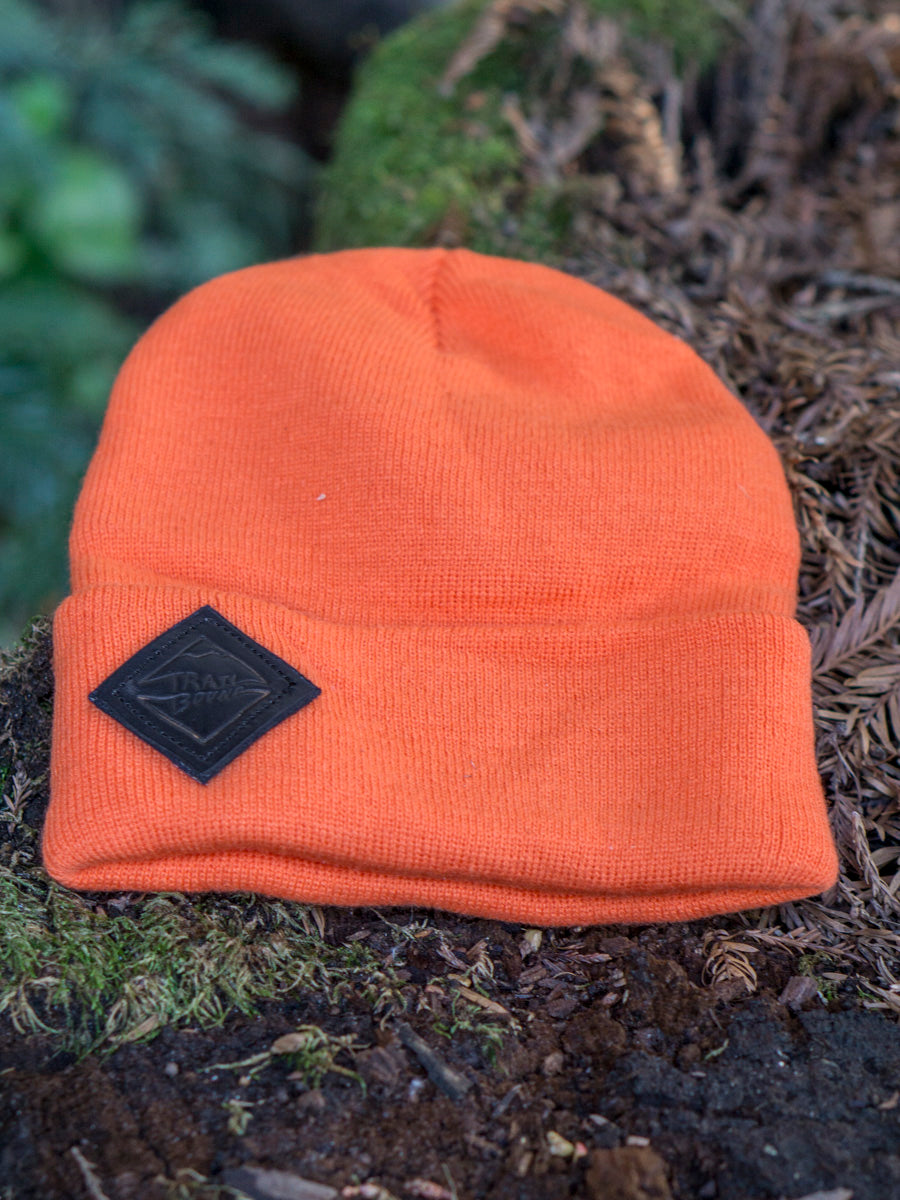 Beanie leather patch