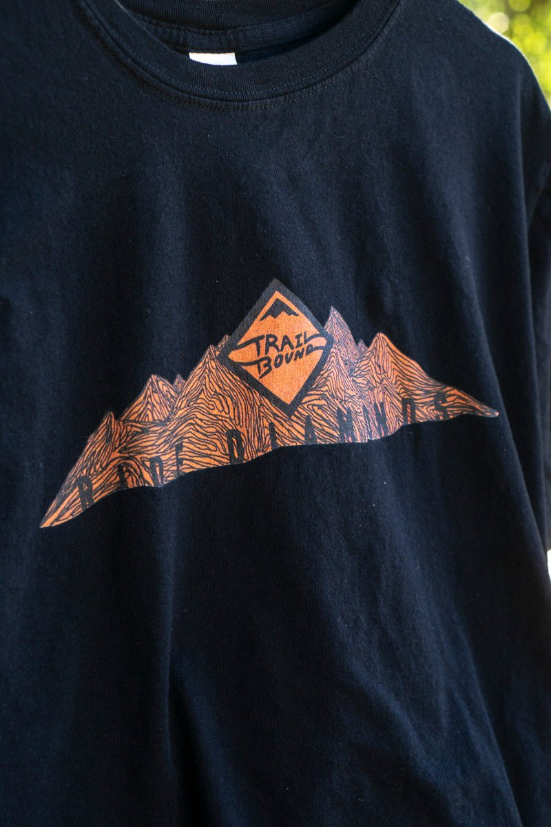 Ride Diamonds Topo Mtns T shirt
