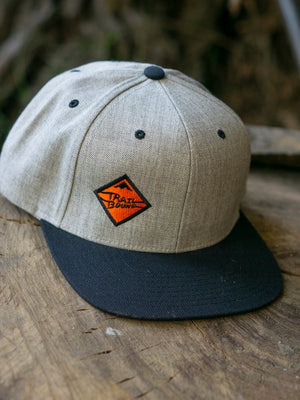 Heather Grey Snap Back Hat