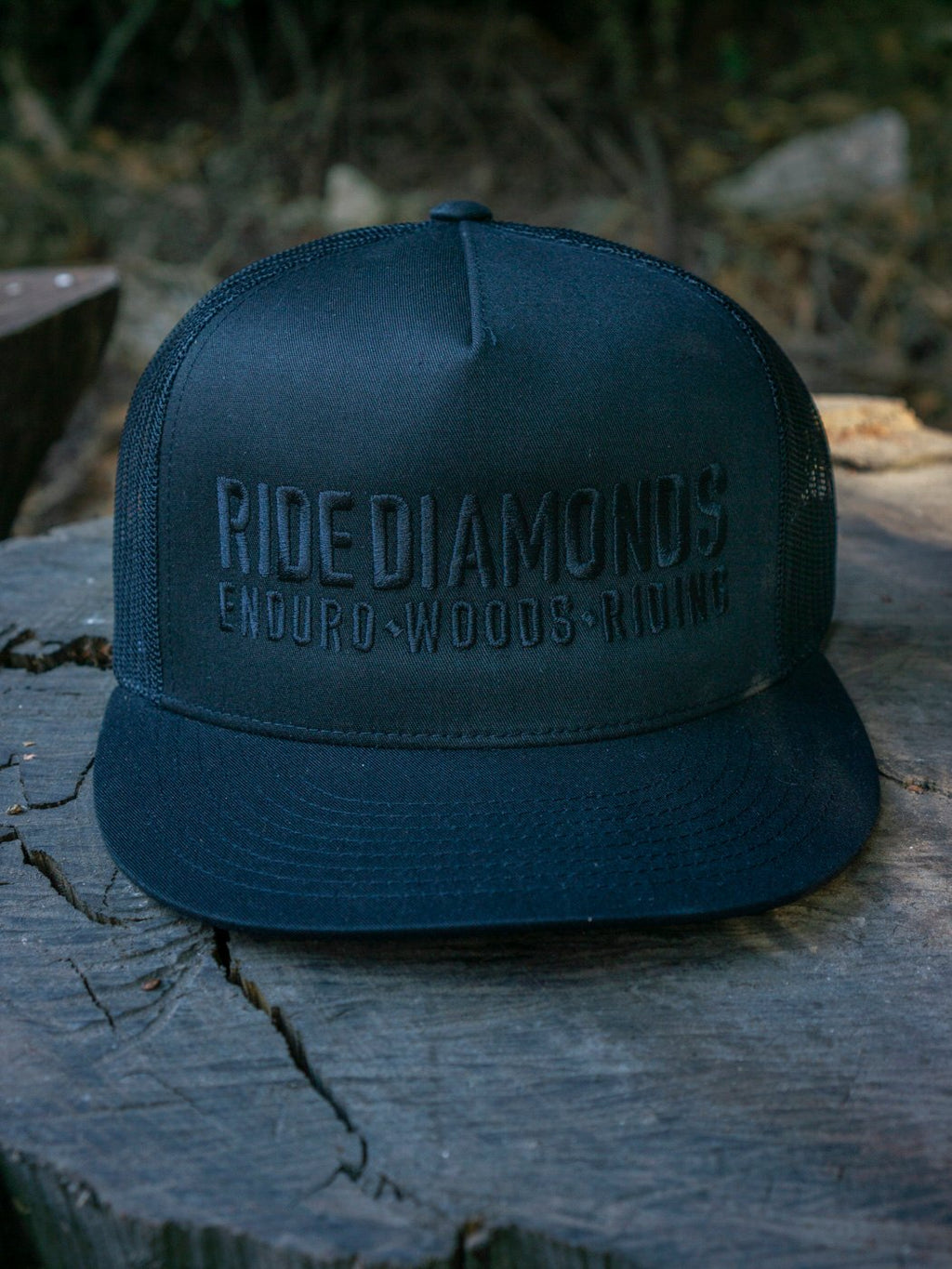 Ride Diamonds stealth hat