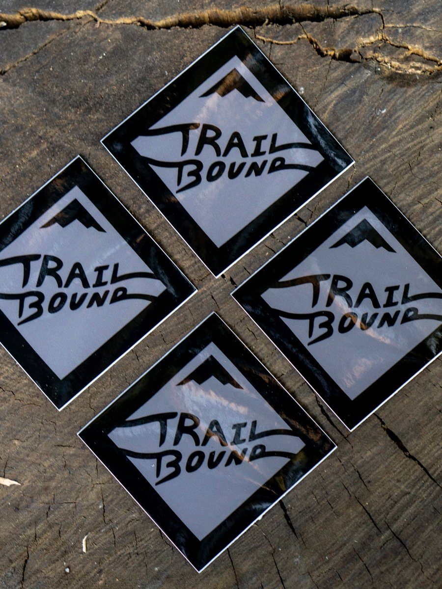 Heavy Duty Trailbound Sticker 4 pack