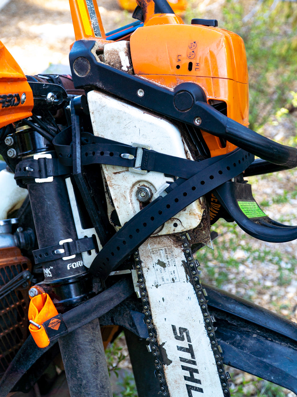 Trailcutters Chainsaw Number Plate Rack