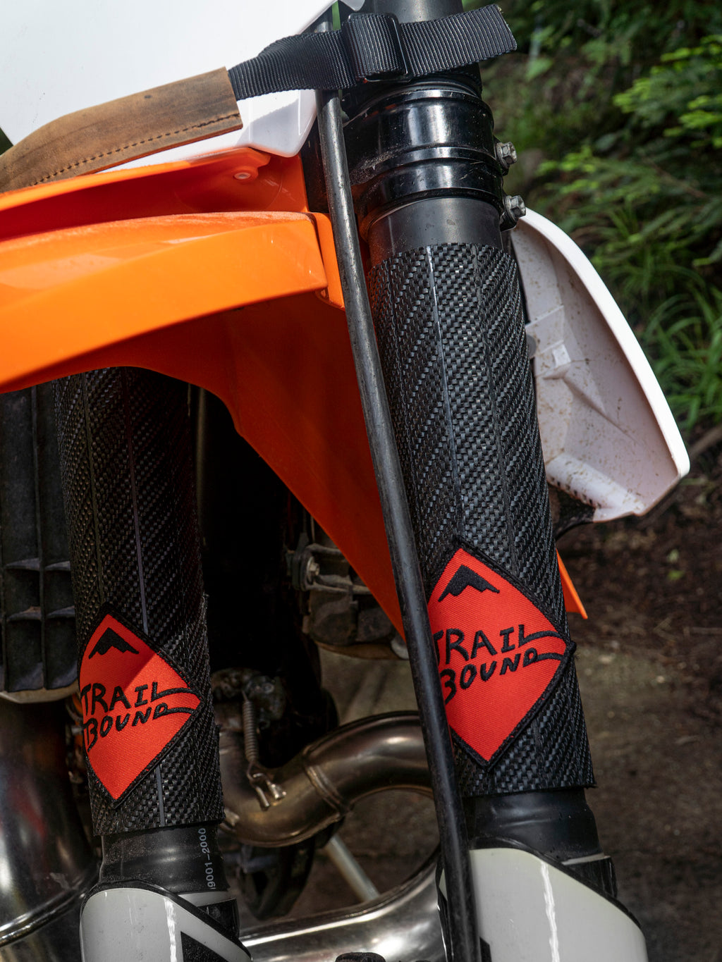 Trailbound Fork Tube Protectors Rubber Wraps