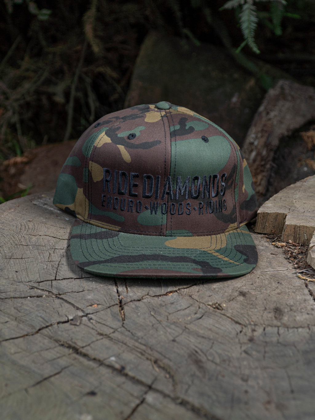 Ride Diamonds Camo Hat