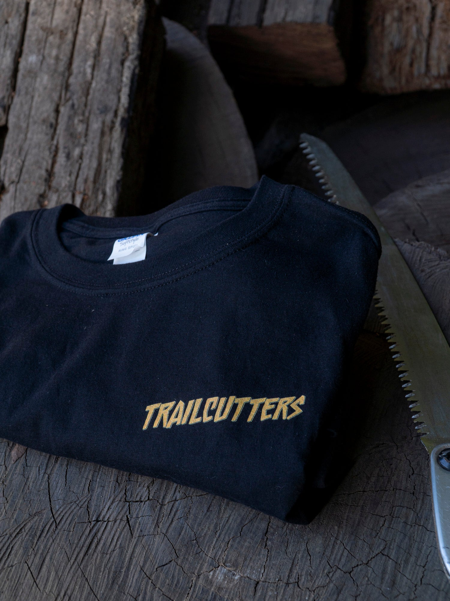 Trailcutters slash logo shirt