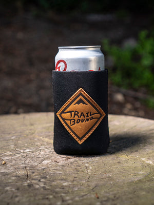 Leather Diamond Can Koozie