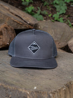 Grey and Silver Mesh Hat