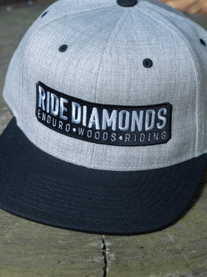 Ride Diamonds Heather Grey Hat