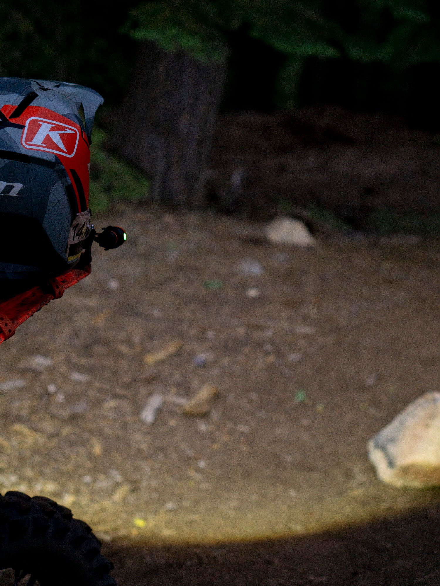 Trailbound Torch Dirtbike Helmet Light