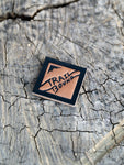Trailbound Diamond Leather Velcro Patch