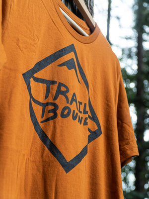 Burnt Orange Diamond Shirt