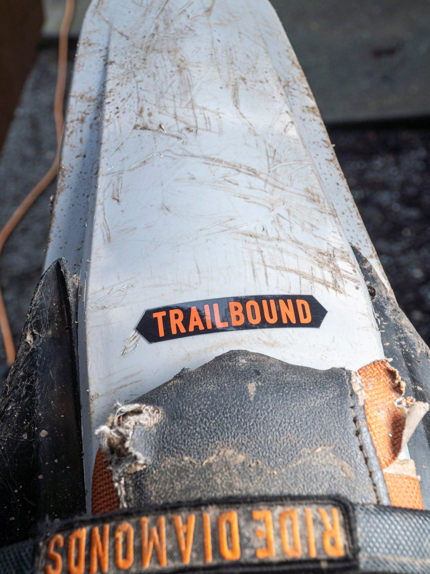 Trailbound Trail Sign Sticker 3 Pack