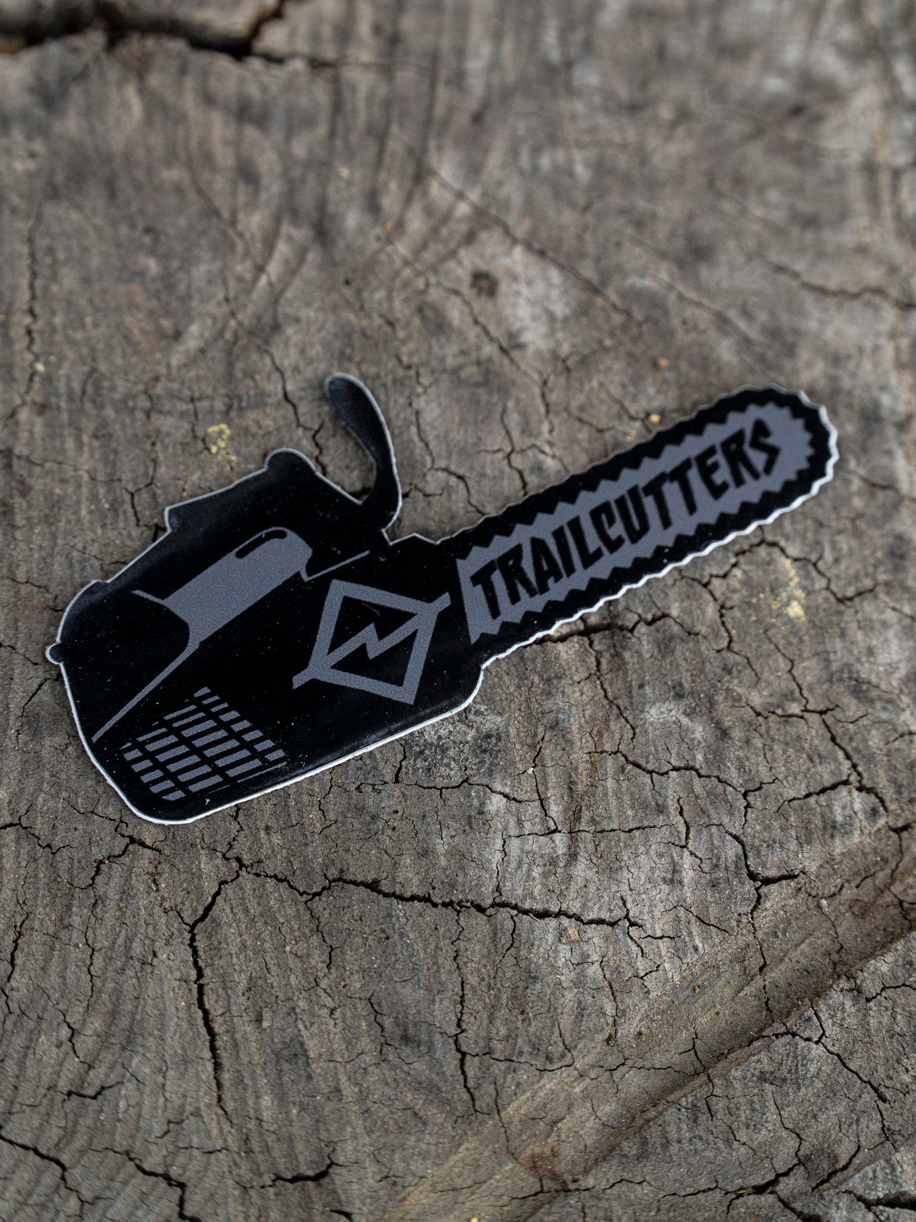 Trailcutters Chainsaw Stickers 3 Pack