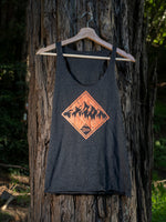 Mountain Tree Ladies Racerback Tank Top