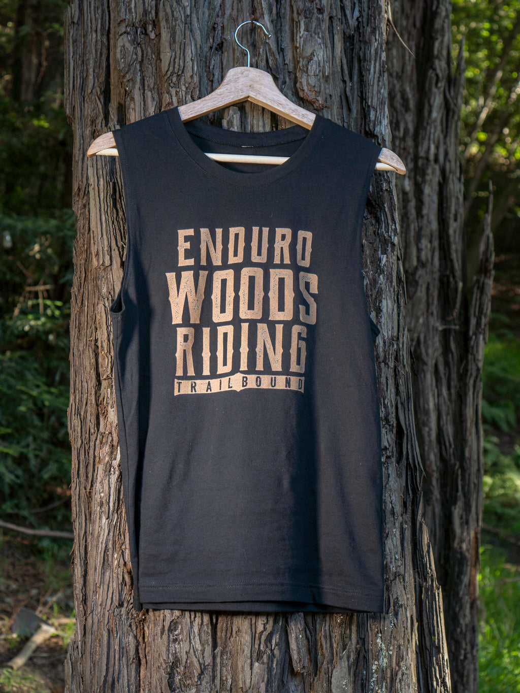 Enduro Woods Riding Muscle Tank Shirt