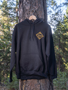Trailbound Ladies Gold Diamond Sweat shirt