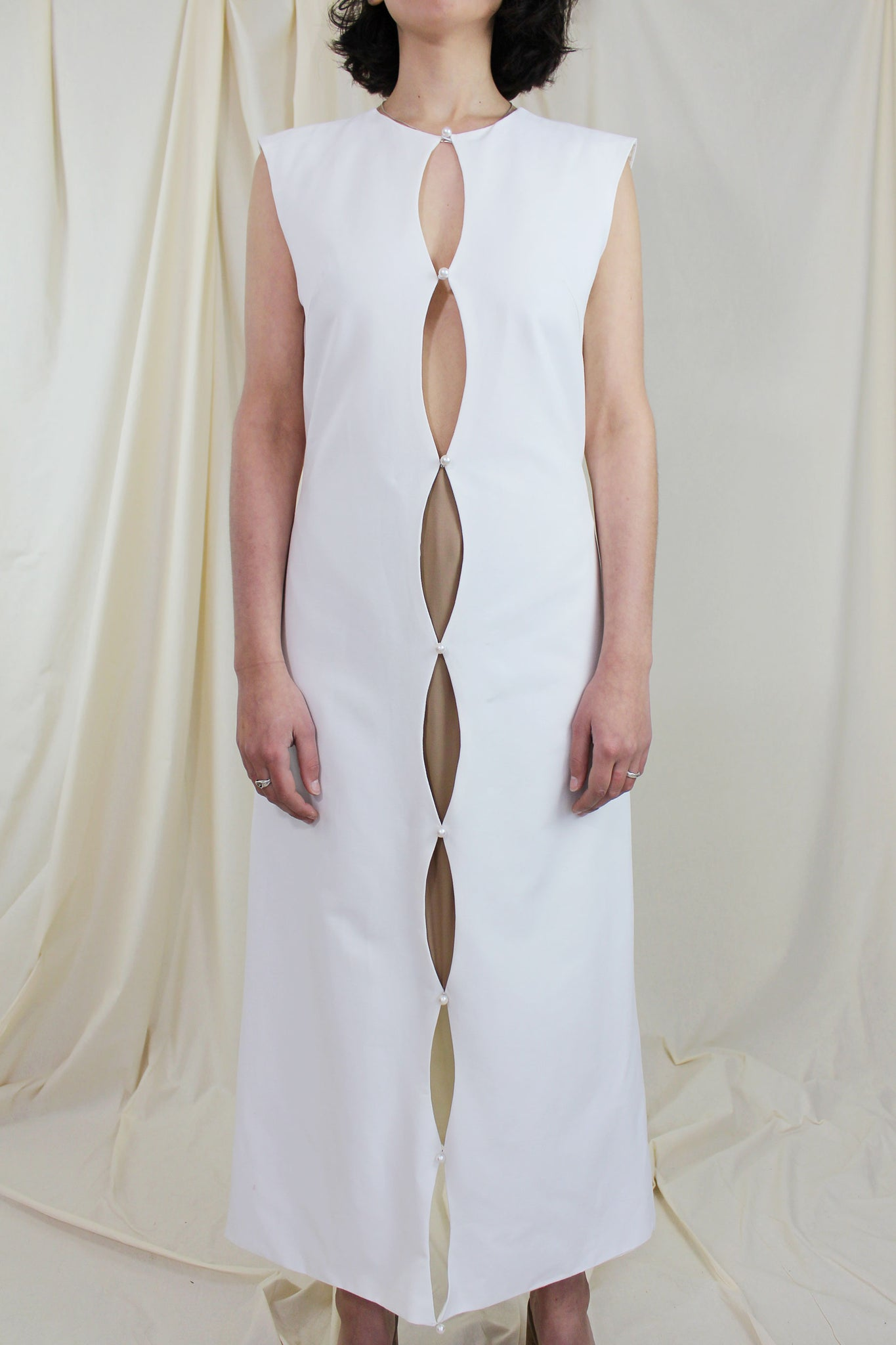 Core Dress - White