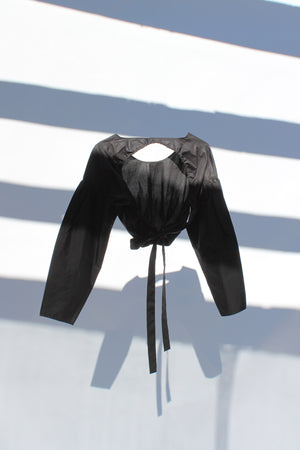 Medulla Top - Black
