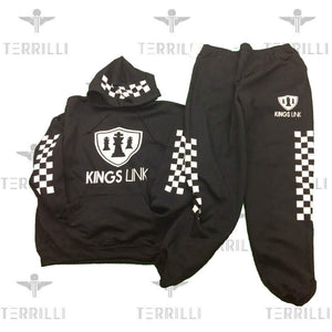 "Black/White Kings Link ""CheckMate"" Sweat Suite"