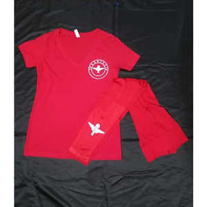 Red Terrilli Tight Set