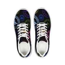 Load image into Gallery viewer, Terrilli Circle Logo Print Black Athletic Shoe