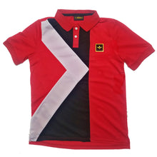 "Load image into Gallery viewer, Terrilli ""King Terrilli"" Polo (Red)"