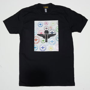 Terrilli Square Circle Logo Print T-Shirt (Black)