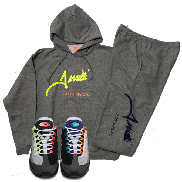 "Unisex Terrilli Custom ""Signature"" Pull Over Hoodie Sweat Suit"