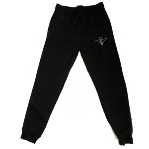 Terrilli Fleece Jogger Pants (Black/White)
