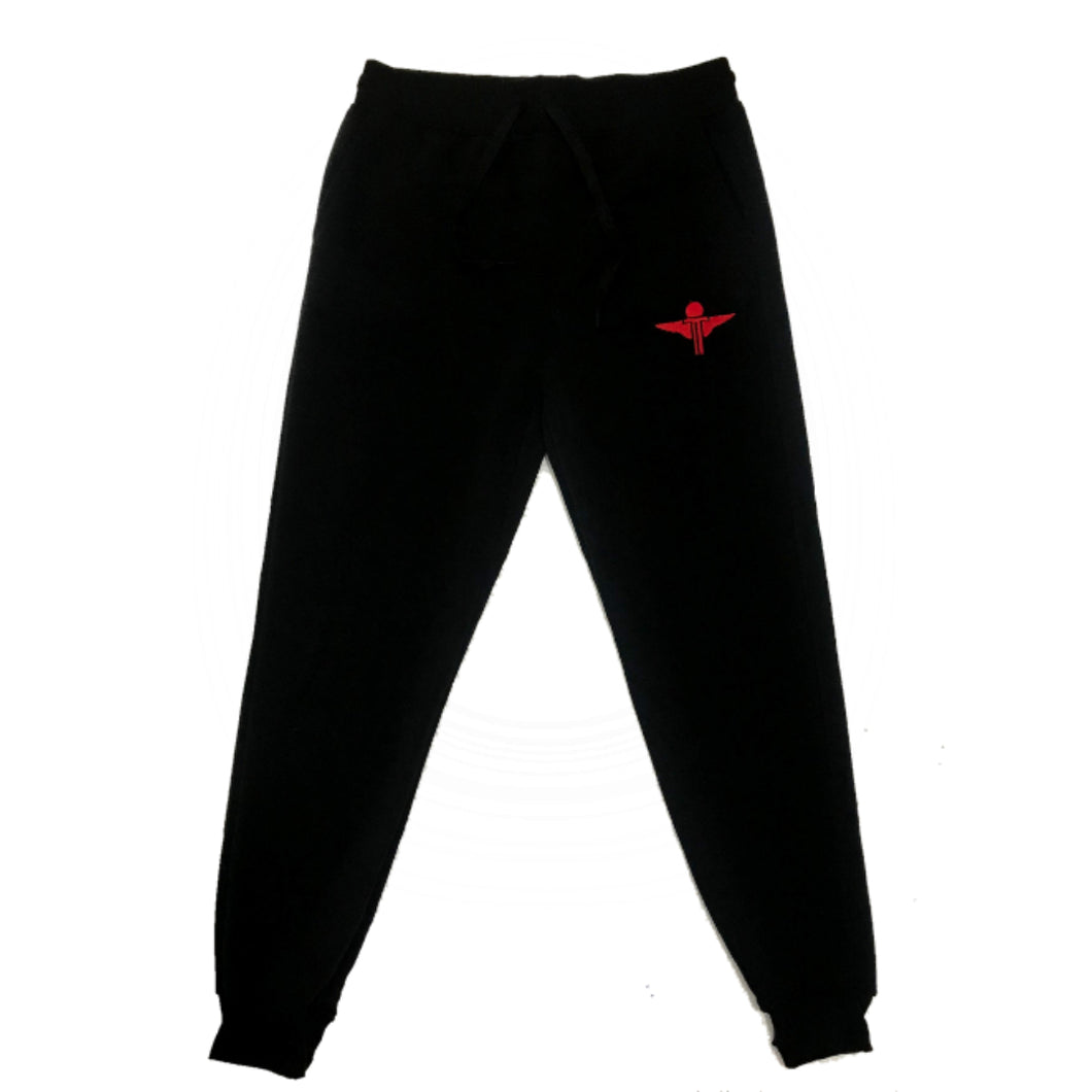 Terrilli Jogger Pants (Black/Red)