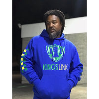 "Custom Kings Link ""CheckMate"" Pullover Hoodie Sweat Suite"
