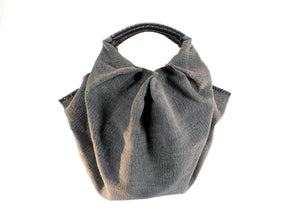 Bag, grey/black