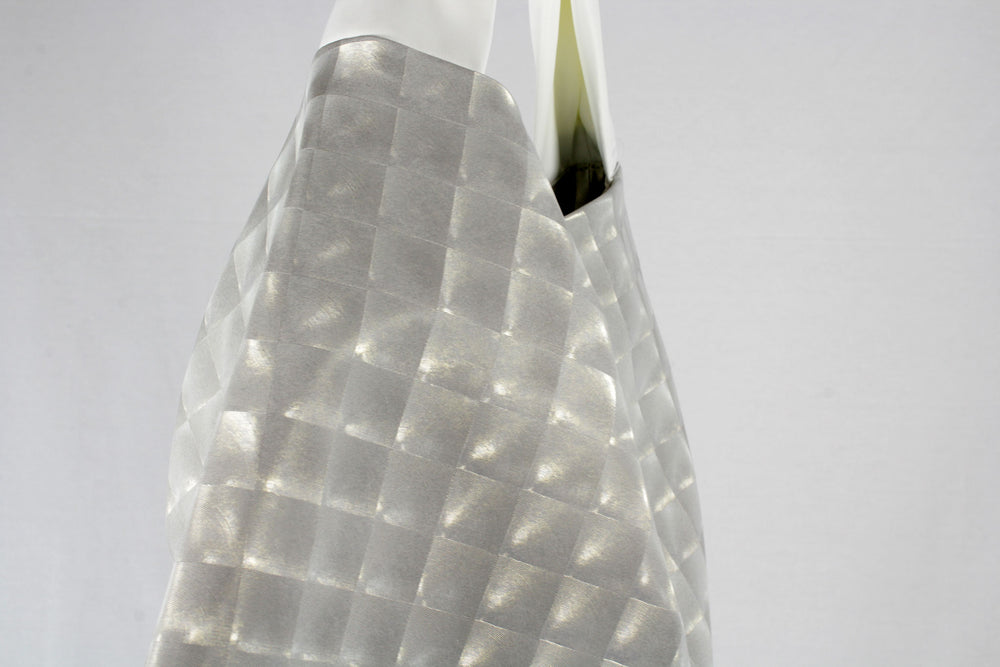 Pearl white bag