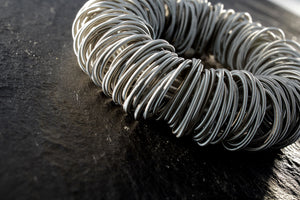 Bracelet, stainless steel wire