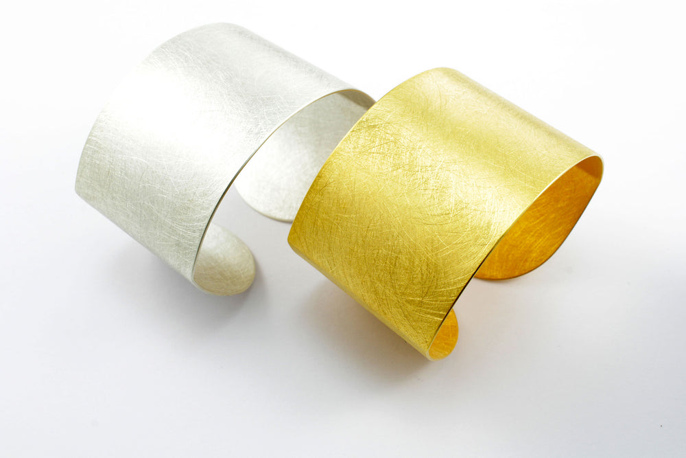 Bracelet, gold-plated silver