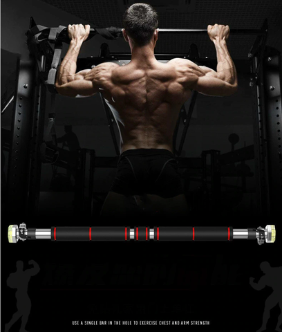 Adjustable Door Horizontal Workout Bar - YouTech.Me