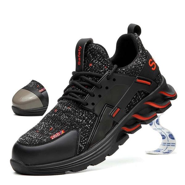Light Breathable Fashionable Safety Sneakers - YouTech.Me