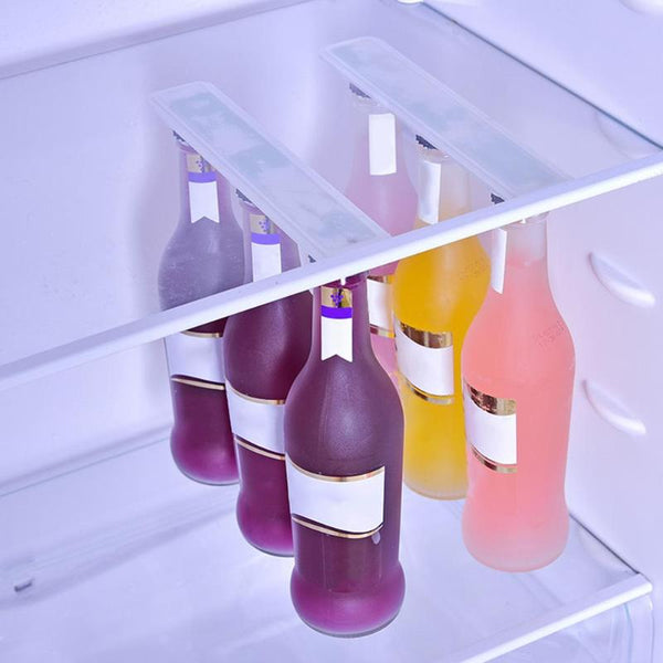 Magnetic Fridge Bottle & Jar Hanger - YouTech.Me