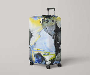 Abstract Art Luggage Protector