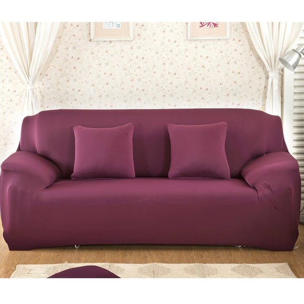 Non-slip Elastic Spandex Sofa Cover for Living Room (1/2/3/4 Seaters) - YouTech.Me