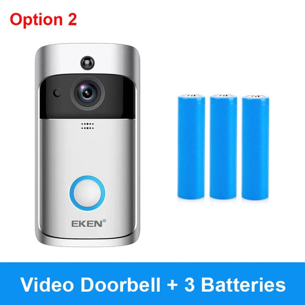 Smart WiFi Security Visual Recording Doorbell (with Night Vision & Intercom Door Phone) - YouTech.Me