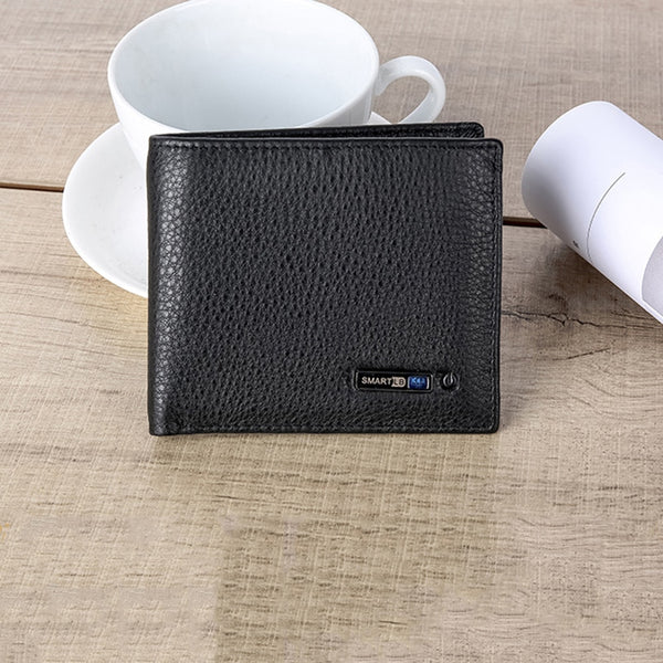 Genuine Leather Anti-Theft Wallet Guard - YouTech.Me
