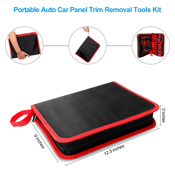 Hard Plastic Car Repair / Trims Remover Tool Kit - YouTech.Me