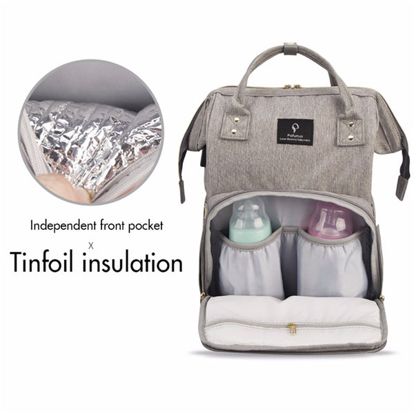 All-In-One Smart Mommy Diaper Handbag - YouTech.Me