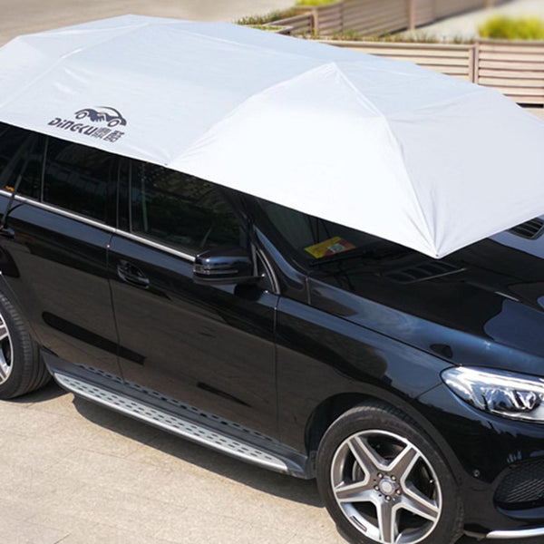 Portable Full Automatic Umbrella Car Cover - YouTech.Me